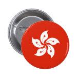 Bandera HK de Hong Kong Pins