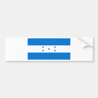 Bandera HN de Honduras Pegatina De Parachoque