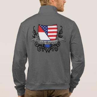 Bandera Holandés-Americana del escudo Chaqueta