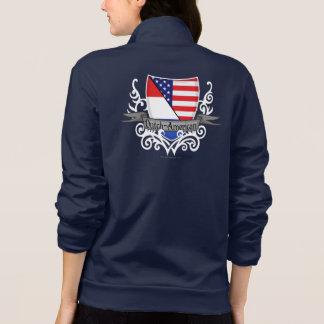Bandera Holandés-Americana del escudo Chaquetas