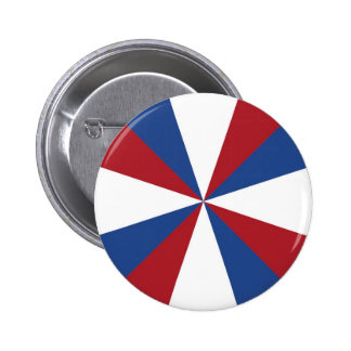 Bandera holandesa de Holanda Pin Redondo De 2 Pulgadas