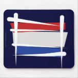 Bandera holandesa del cepillo alfombrilla de ratón