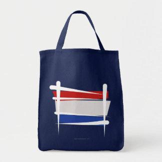 Bandera holandesa del cepillo bolsa