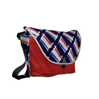 Bandera holandesa del cepillo bolsas de mensajería