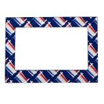 Bandera holandesa del cepillo marcos magneticos de fotos
