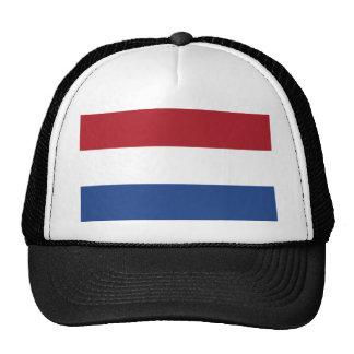Bandera holandesa del mundo gorro