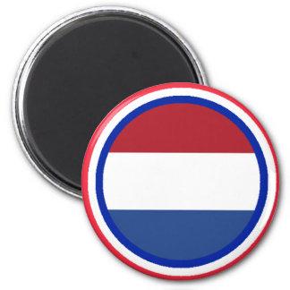 Bandera holandesa el MUSEO Zazzle Imán Para Frigorifico