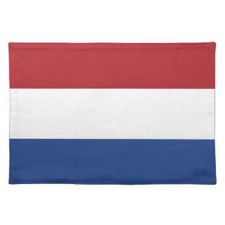 Bandera holandesa en MoJo Placemat Manteles Individuales