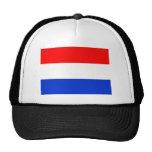 Bandera holandesa gorras de camionero