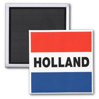 Bandera holandesa imán de frigorifico