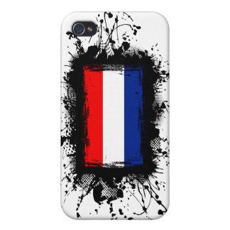Bandera holandesa iPhone 4 funda