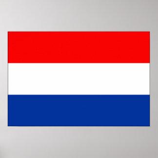 Bandera holandesa poster