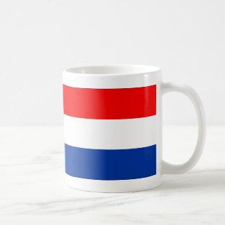 Bandera holandesa taza clásica