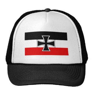 Bandera imperial alemana gorro