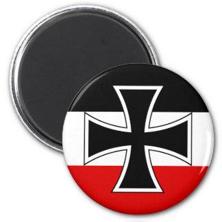 Bandera imperial alemana iman de nevera