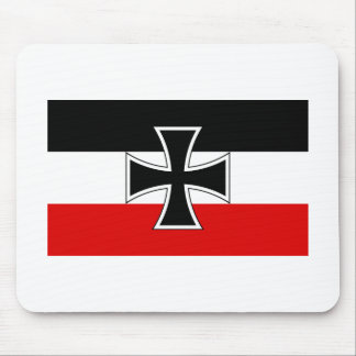 Bandera imperial alemana tapetes de raton