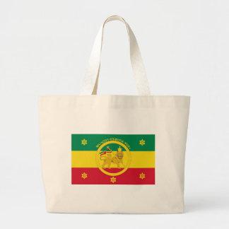 Bandera imperial etíope - reinado de Haile Selassi Bolsa Tela Grande
