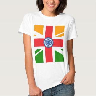 Bandera india Anglo Playera