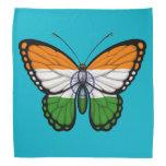 Bandera india de la mariposa bandanas