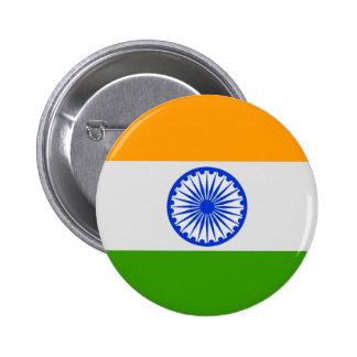 Bandera india pin redondo 5 cm