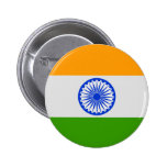 Bandera india pin redondo de 2 pulgadas