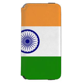 Bandera india funda cartera para iPhone 6 watson