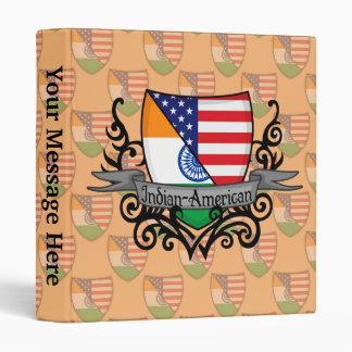 "Bandera Indio-Americana del escudo Carpeta 1"""