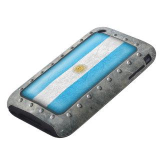 Bandera industrial de Argentina Carcasa Resistente Para iPhone
