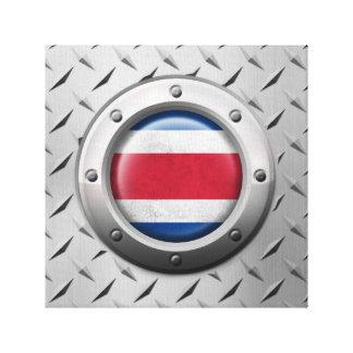 Bandera industrial de Costa Rica con el gráfico de Impresion En Lona