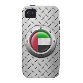 Bandera industrial de los UAE con el gráfico de ac iPhone 4/4S Carcasa