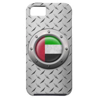 Bandera industrial de los UAE con el gráfico de ac iPhone 5 Funda