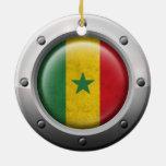 Bandera industrial de Senegal con el gráfico de ac