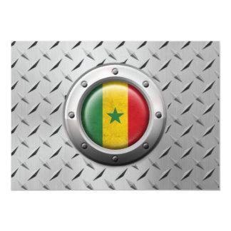 """Bandera industrial de Senegal con el gráfico de Invitación 5"""" X 7"""""""