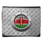 Bandera industrial del Kenyan con el gráfico de ac