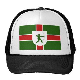 bandera Inglaterra Robin Hood de la región de Nott Gorro De Camionero