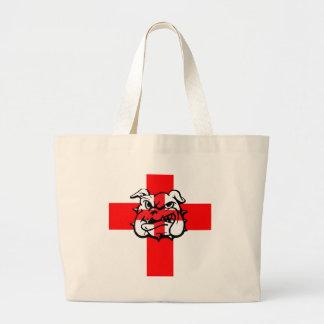 Bandera inglesa bolsa tela grande
