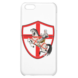 Bandera inglesa de Inglaterra del caballo del jine