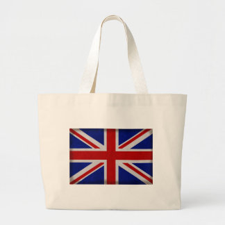 Bandera Inglesa de Inglaterra urdida Bolsa Tela Grande