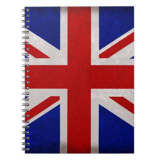 Bandera Inglesa de Inglaterra urdida Libretas