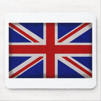 Bandera Inglesa de Inglaterra urdida Mousepad