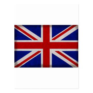 Bandera Inglesa de Inglaterra urdida Postales