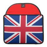 Bandera inglesa funda para macbook pro