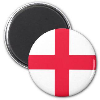 Bandera inglesa imán redondo 5 cm