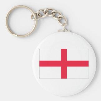 Bandera inglesa llavero redondo tipo pin