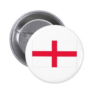 Bandera inglesa pin redondo de 2 pulgadas