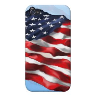 Bandera intrépida iPhone 4/4S fundas