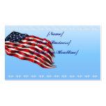 Bandera intrépida profilecard_business_horizontal, tarjeta de visita