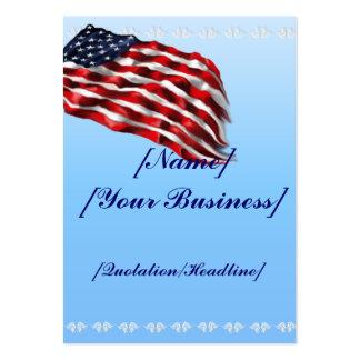 Bandera intrépida profilecard_chubby_vertical tarjetas de visita grandes