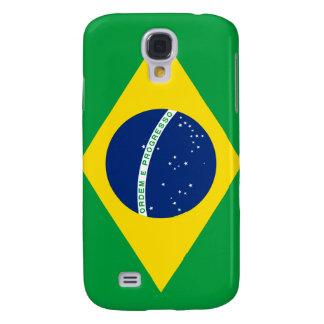 Bandera iPhone3 del Brasil Funda Para Galaxy S4