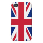Bandera iPhone4 de Reino Unido iPhone 4 Cobertura
